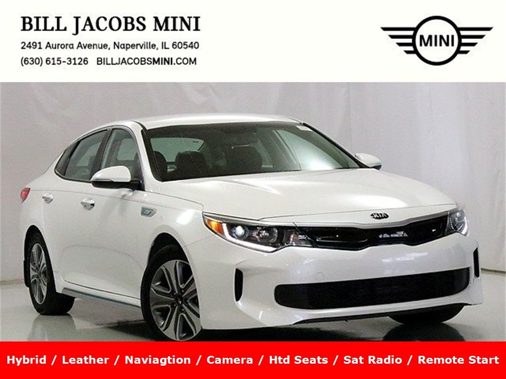 Pre Owned 2017 Kia Optima Plug In Hybrid Ex
