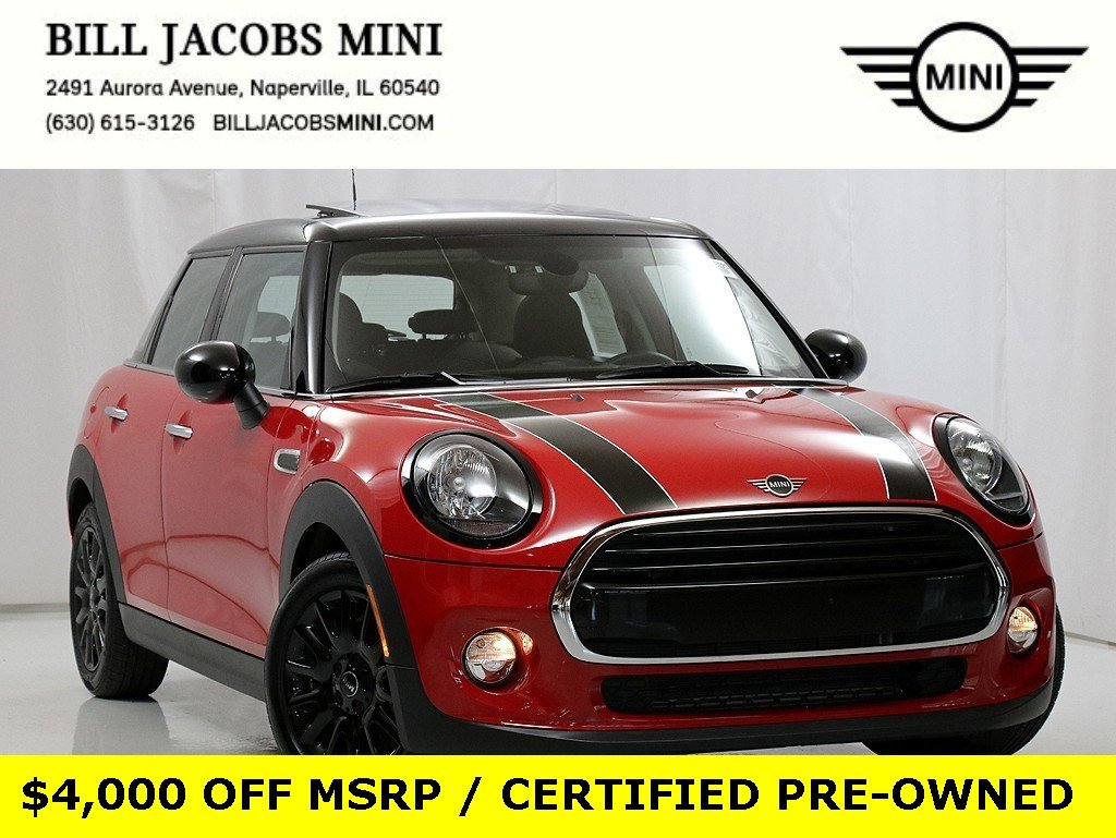Certified Pre-Owned 2019 MINI Hardtop 4 Door Cooper